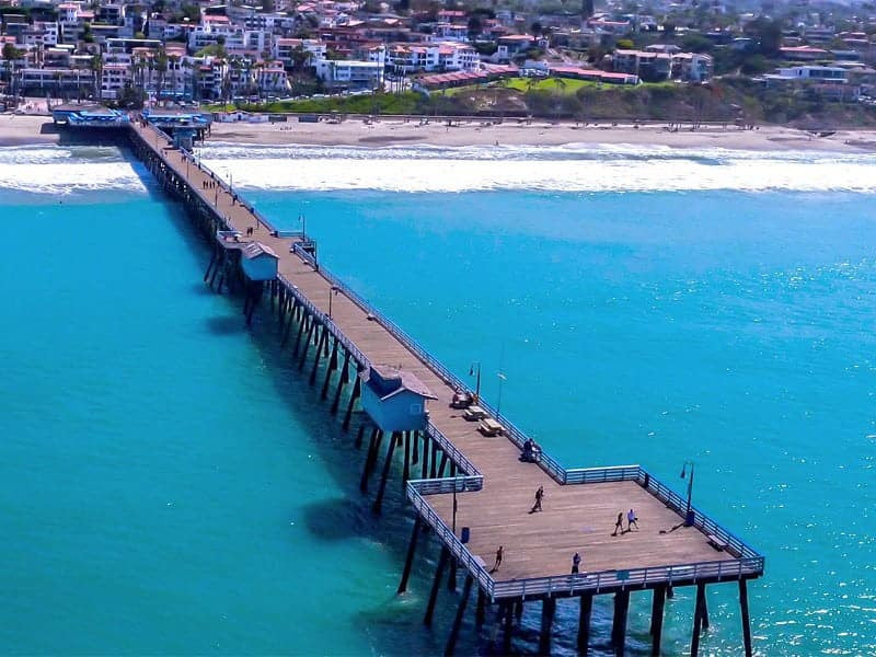 BAD Drones Aerial Photography Pier